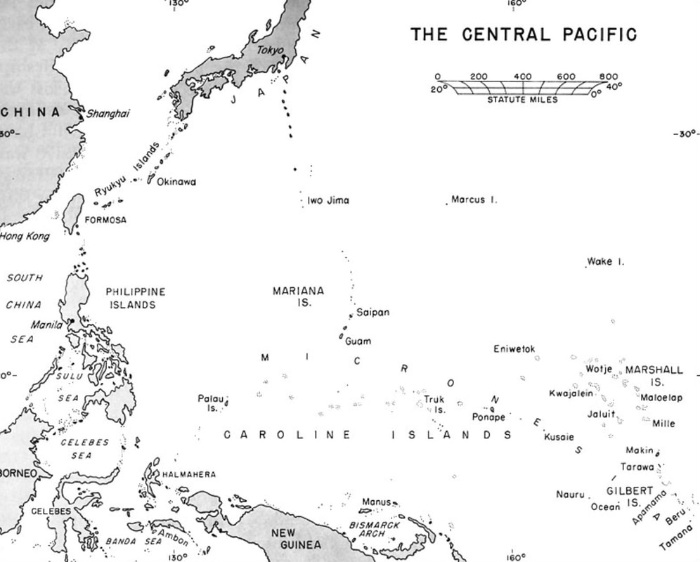 WW II - The Central Pacific