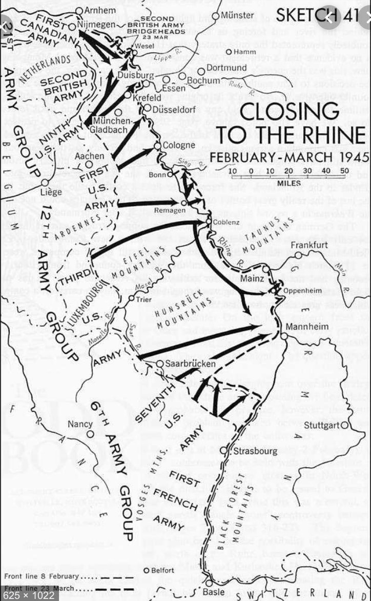 The Rhineland Campaign Overview