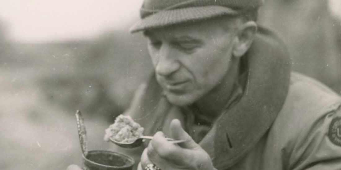Ernie Pyle in Italy