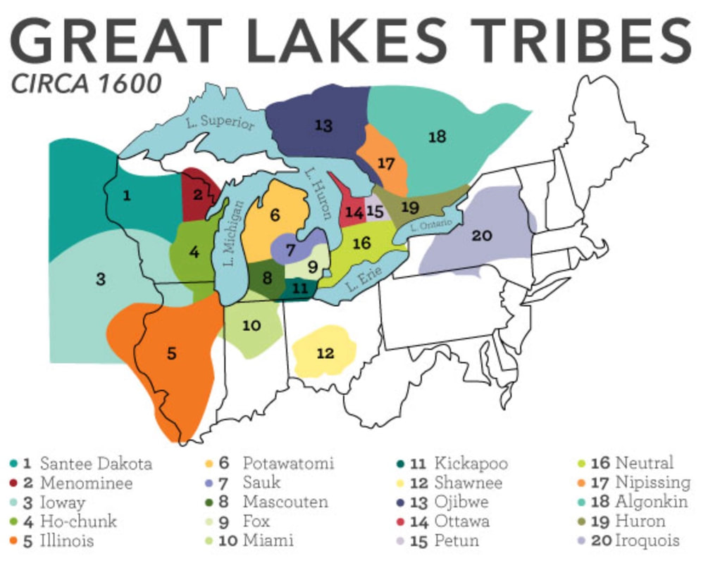 Great Lakes Tribes before the Beaver Wars