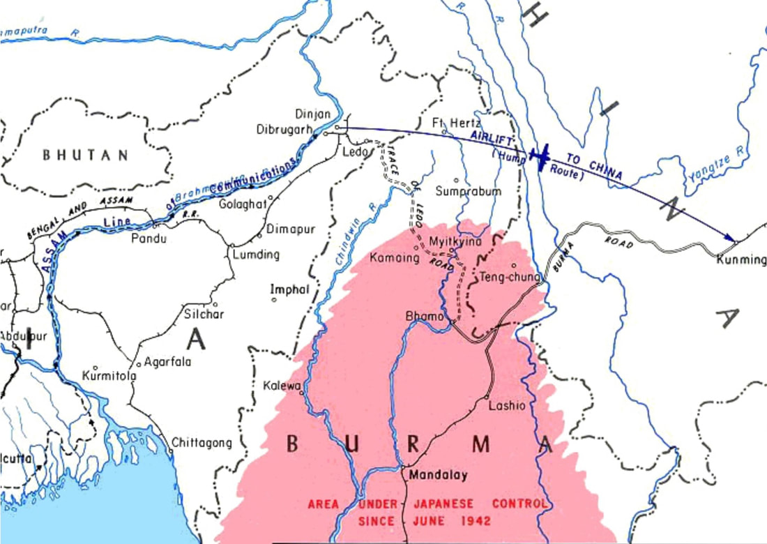 North Burma and the Surrounding Area