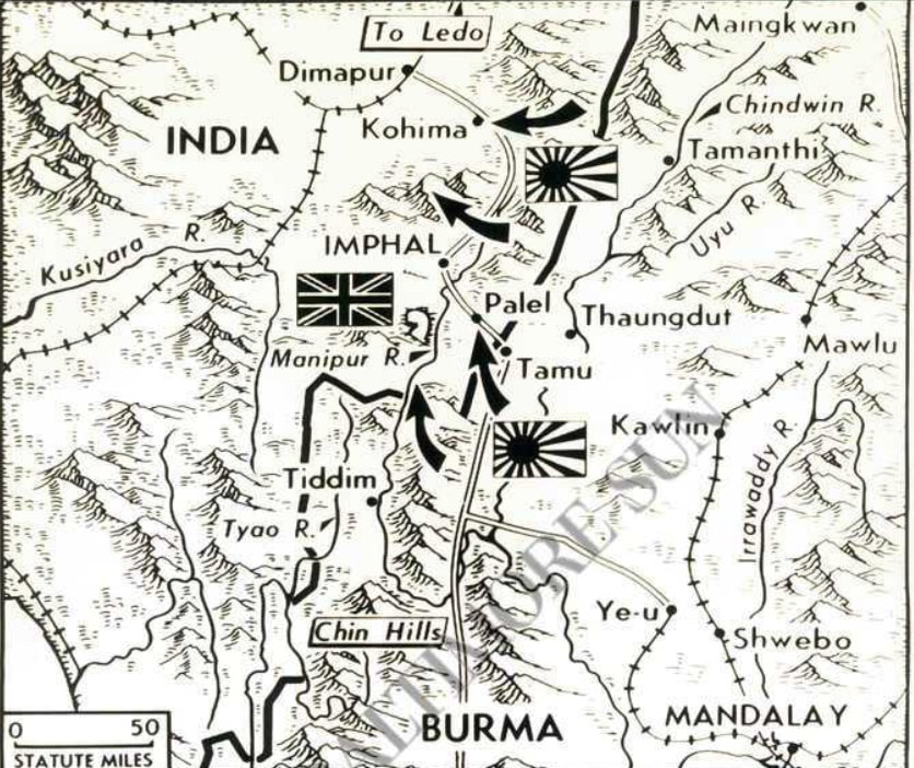 The Battles of Imphal and Kohima