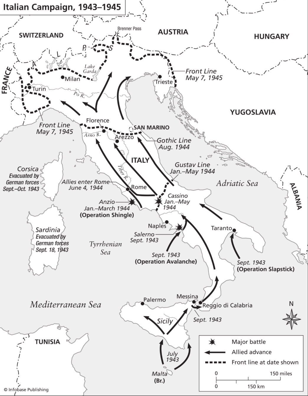 The Allied Campaign in Italy