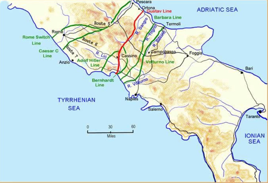 The Italian Campaign - Southern Italy